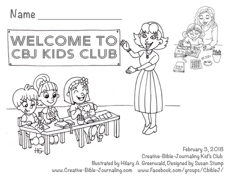 Click For Download Printable Kids Club Coloring Page